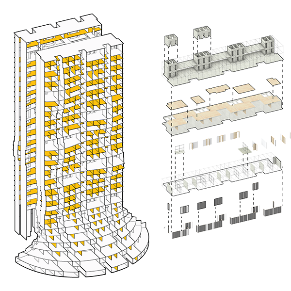 Oliver HECKMANN_thumbnail_RESEARCH_Comparative Study Analytical Modelling for Adaptive Housing Typologies_Hybrid Construction